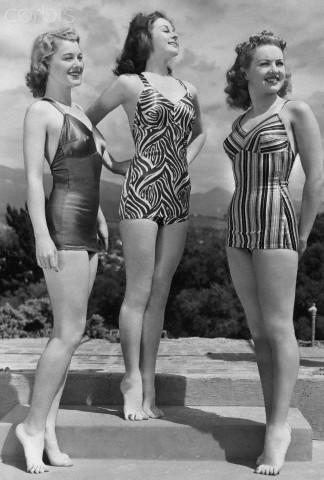 Ellen Drew, Susan Hayward, Betty Grable
