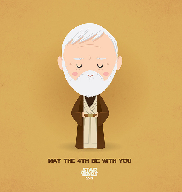 May The 4th Be With You Clip Art: May The 4th Be With You