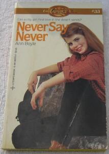 Yasmine Bleeth on Never Say Never