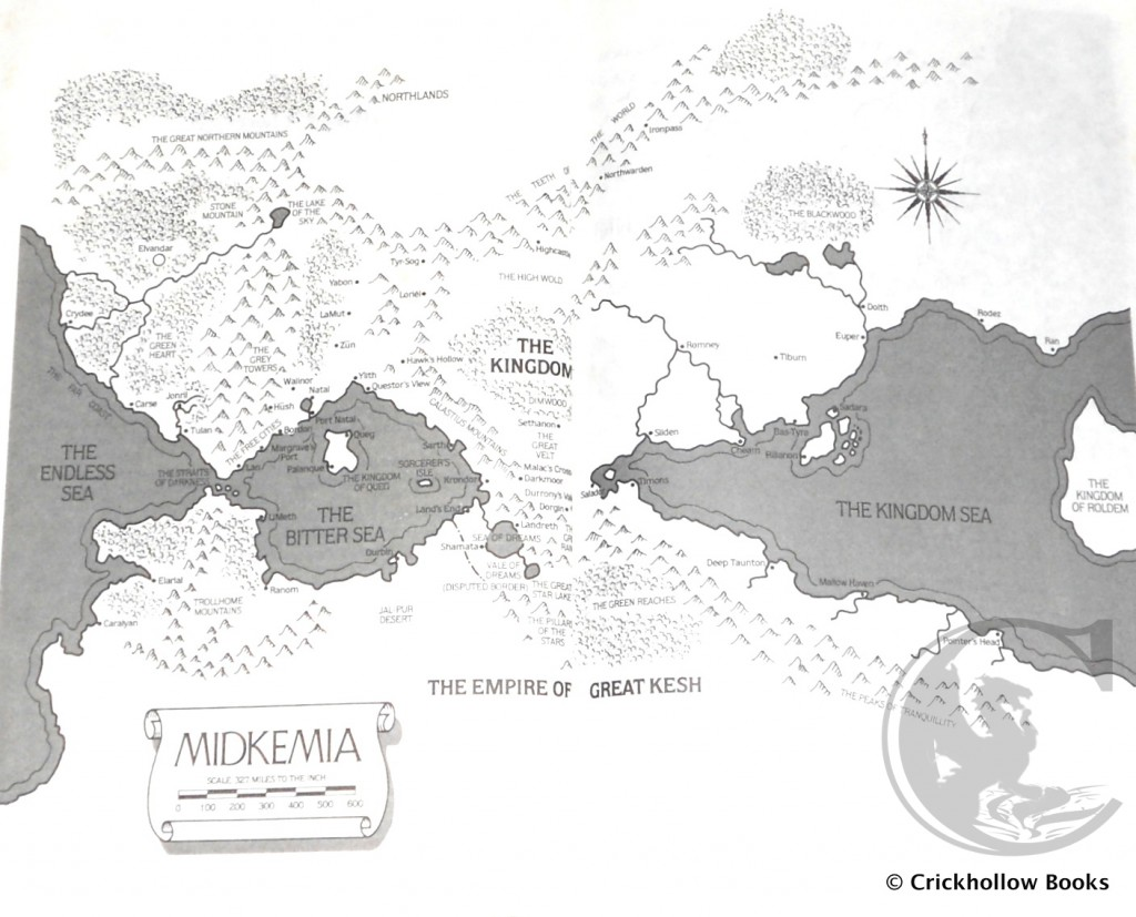 Map of Midkemia