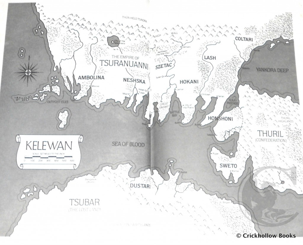 Map of Kelewan