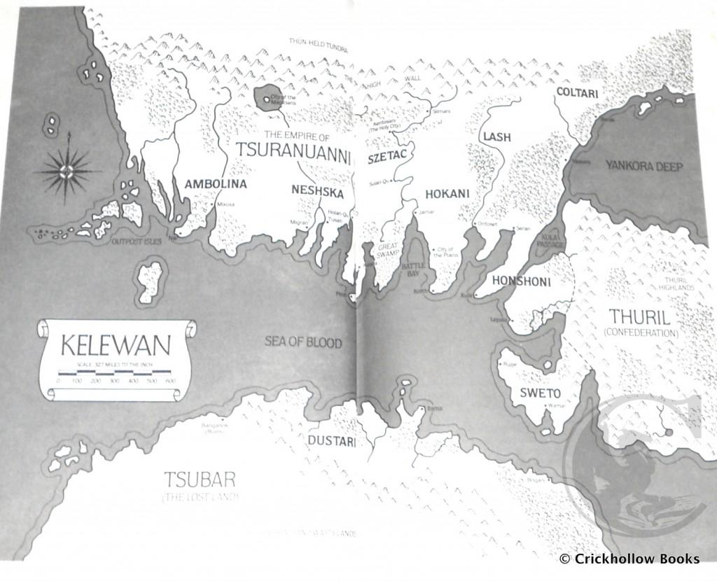 Map of Kelewan