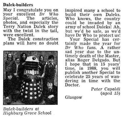 """Dalek-Builders"""