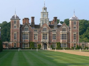 Blickling Hall, Norfolk - The birthplace of George Boleyn