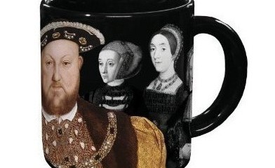 Disappearing Henry VIII Mug