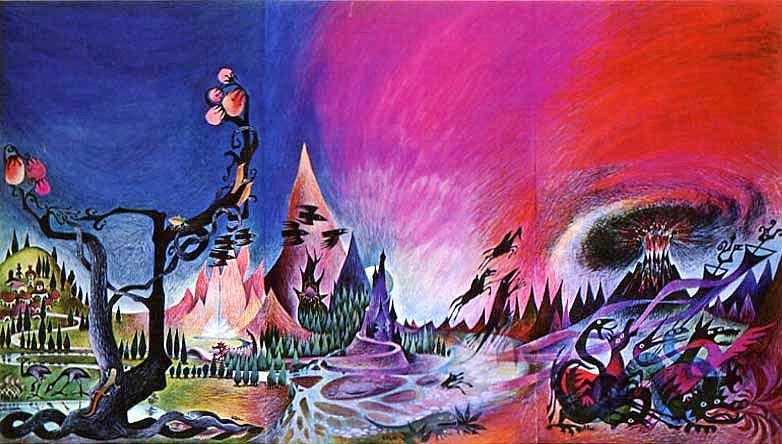 Barbara-Remington-Middle-Earth-art