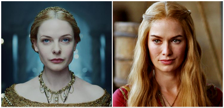 Elizabeth Woodville and Cersei Lannister