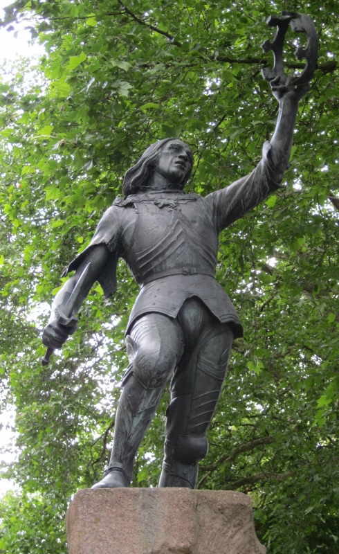 James Butler statue donated by the Richard III Society