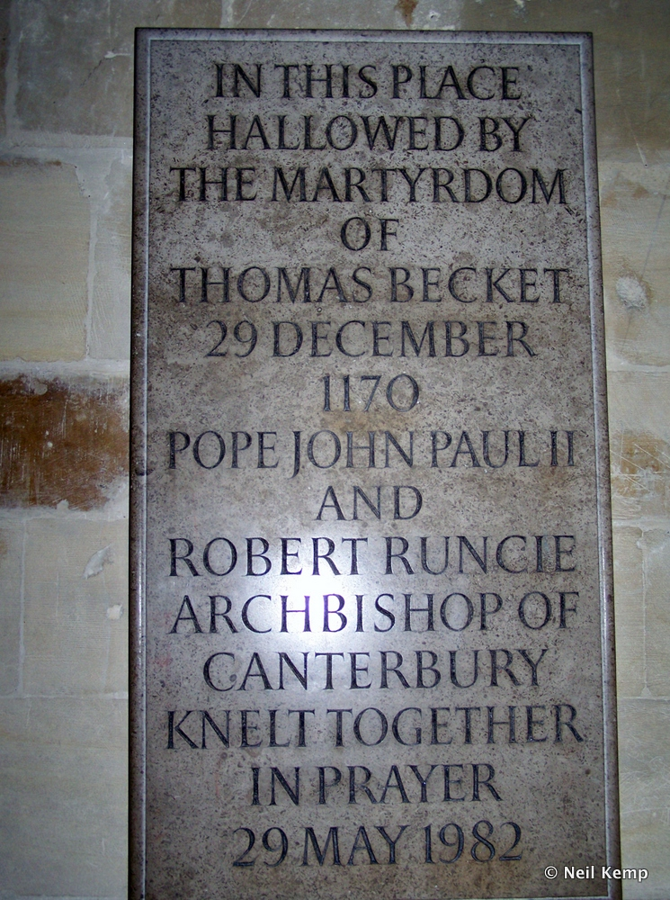 Canterbury_Thomas_Becket_Plaque