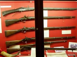 Museum Firearms display