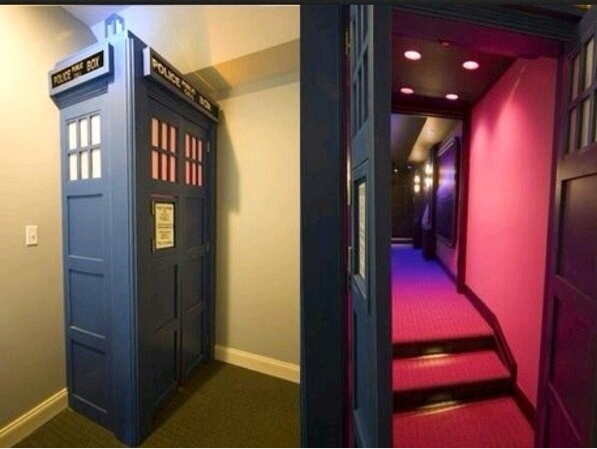 A future representation of what your Tardis Theater Room could look like. Picture: Official Doctor Who Tumblr