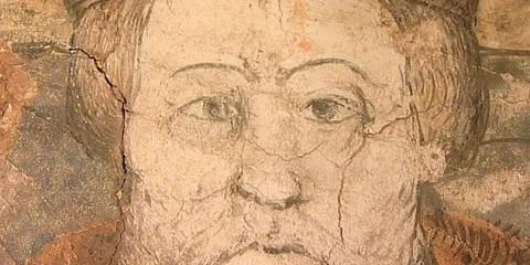 16th Century Mural of Henry VIII has a diabolical secret
