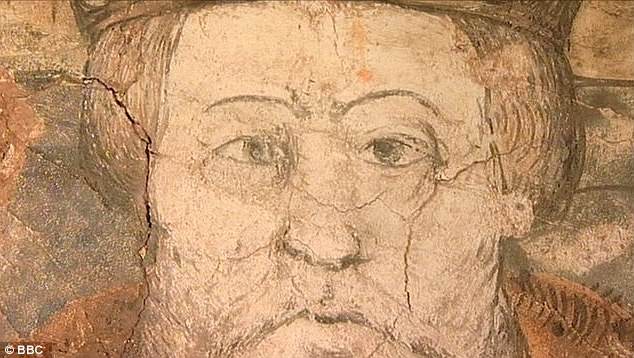 16th Century Mural of Henry VIII has a diabolical secret