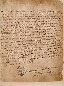 Love Letter from Henry VIII to Anne Boleyn