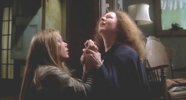 Sissy Spacek as Piper Laurie as Carrie and Margaret White