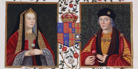 Double Portrait of Elizabeth of York and Henry VII c. 1825
