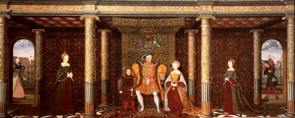 The Family of Henry VIII c 1545