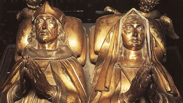 The tomb of Elizabeth of York and Henry VII
