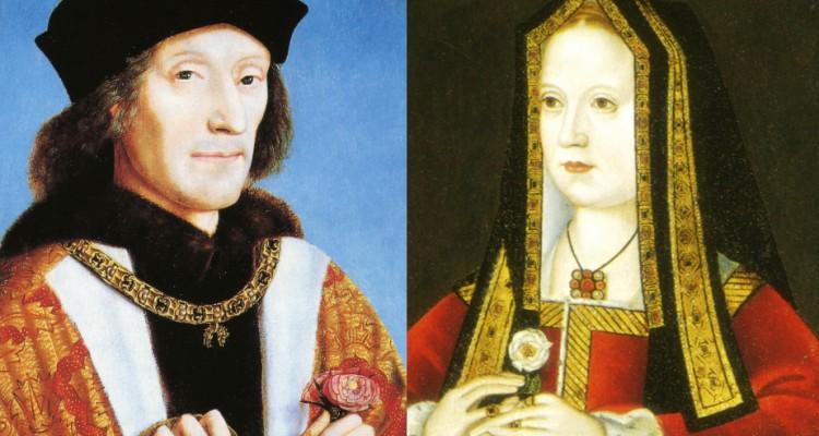 Henry VII and Elizabeth of York
