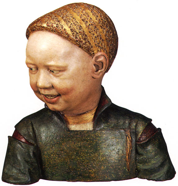 Bust thought to be a young Henry VIII