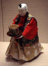 Karakuri-tea-robot