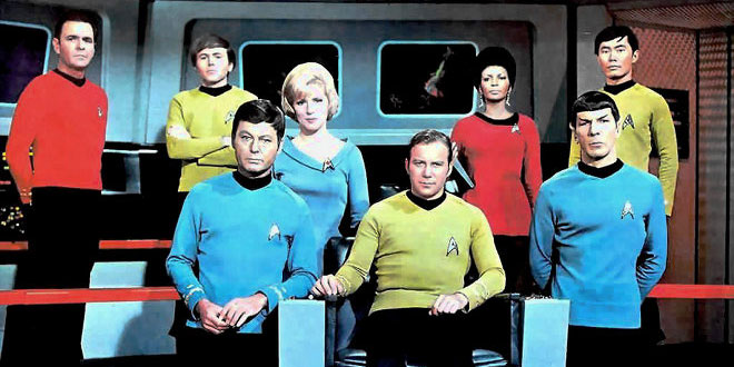 The original series of Star Trek - image ©CBS