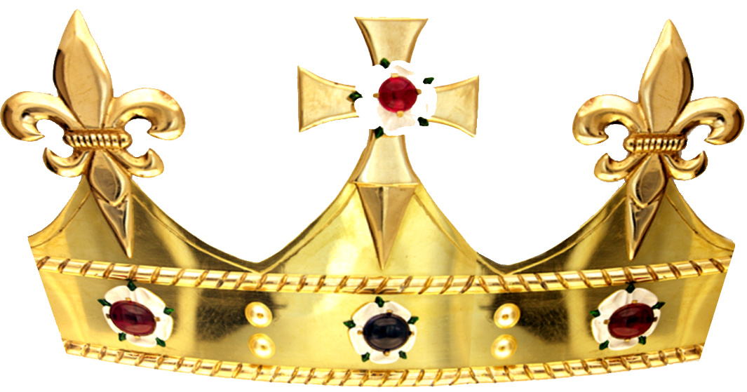 The crown will rest on the coffin of King Richard III during his reinterment ceremony