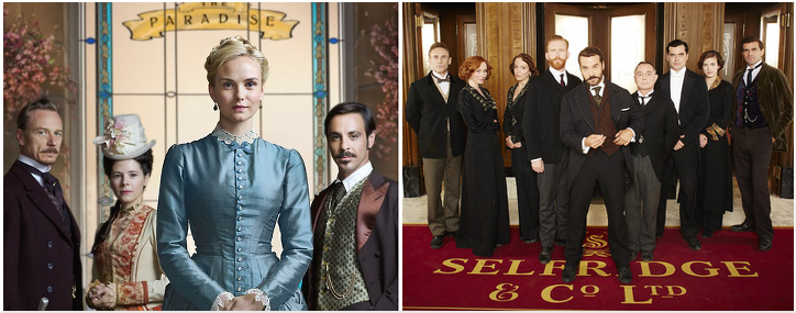 BBC's The Paradise Loses out to ITV's Mr Selfridge