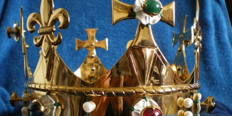 Richard III's funeral crown