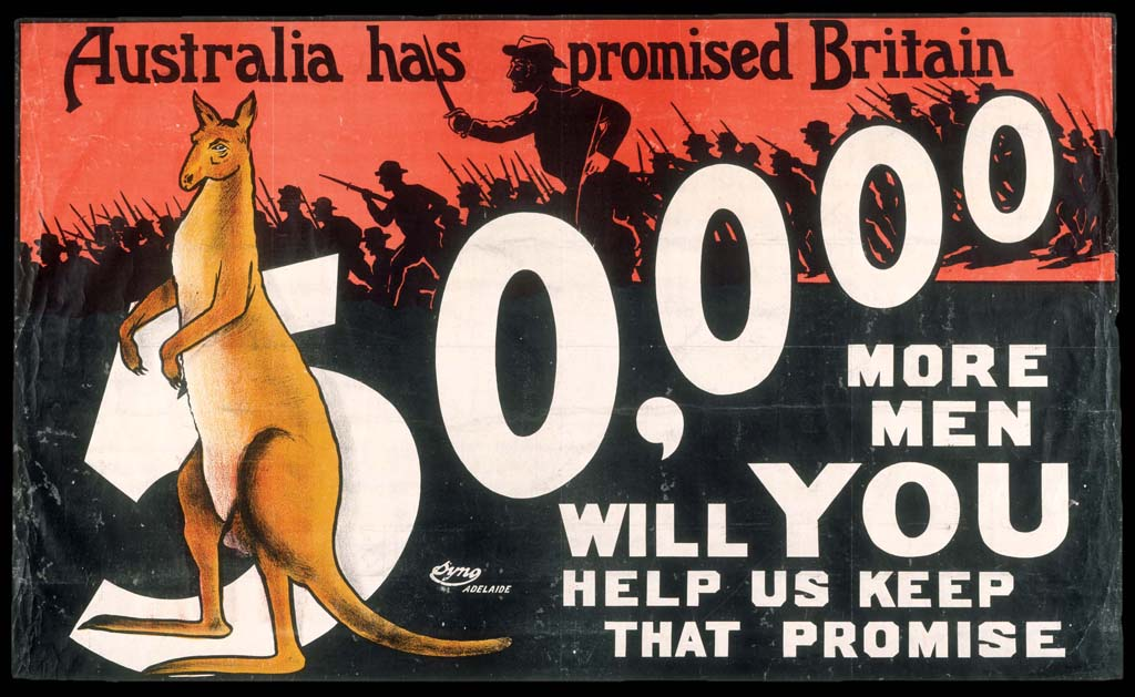 An Australian recruitment poster from 1915