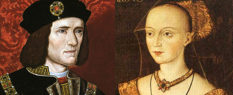Richard III and Elizabeth Woodville