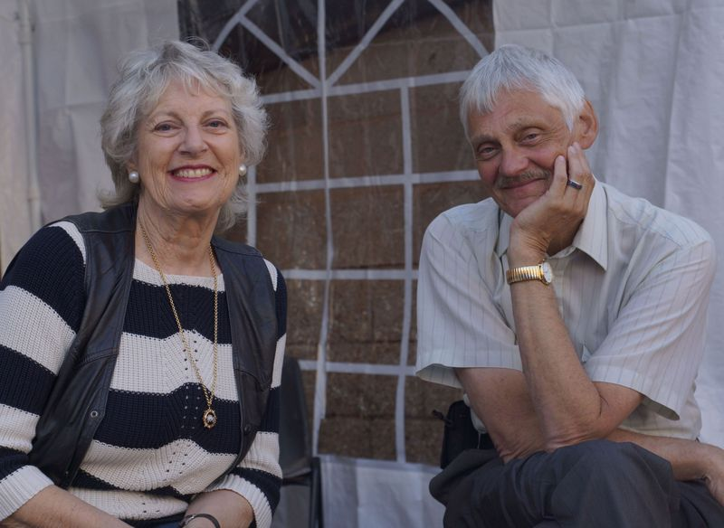 Annette Carson and John Ashdown-Hill Picture @Karen Ladniuk