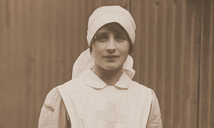 Vera Brittain as a VAD nurse in 1915