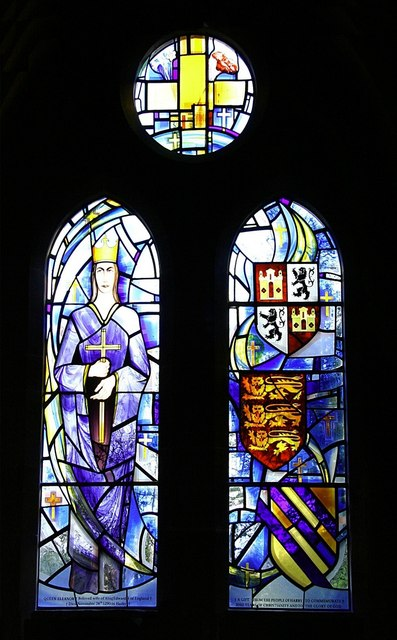 Memorial window at Harby