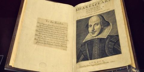 Shakespeare-First-Folio-Victoria-Albert-Museum