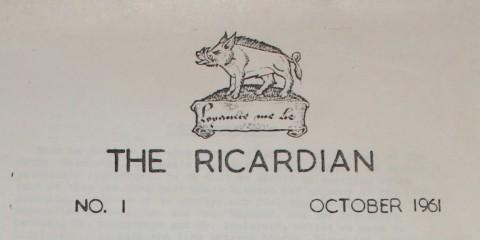 Ricardian-Vol-1-1961-Title