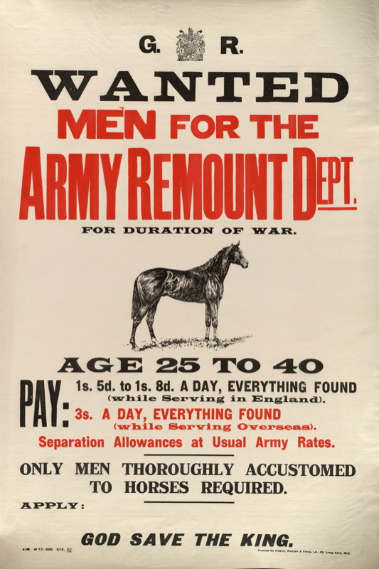 Army-Remount-Service-Poster
