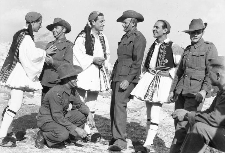 320 ANZACS died in the Greek Campaign - a further 2,065 became prisoners of war. More than 290 New Zealanders were killed and over 1,600 captured.