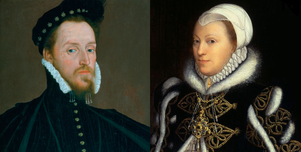 Mary's children Henry Carey and Catherine Knollys