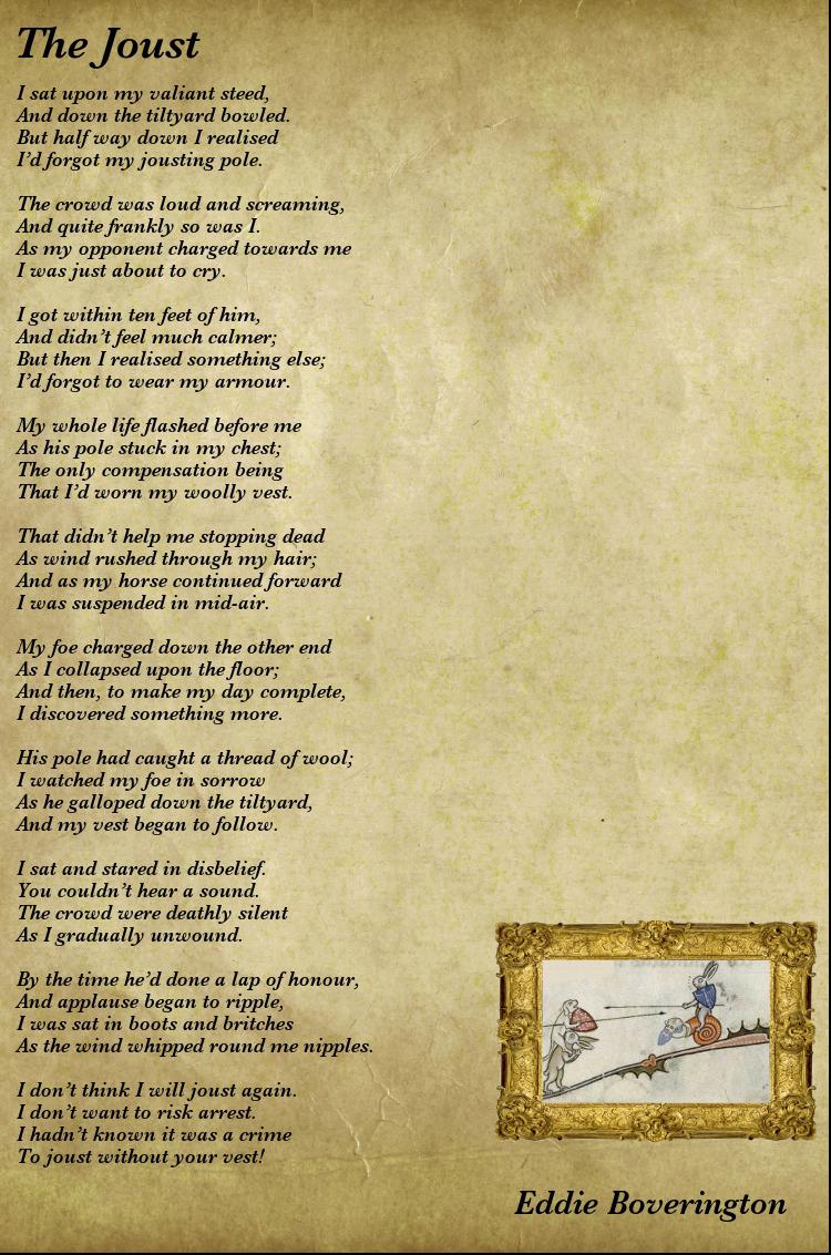 The Joust – Nerdalicious