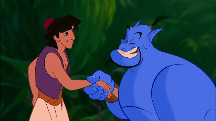 Aladdin-and-Genie