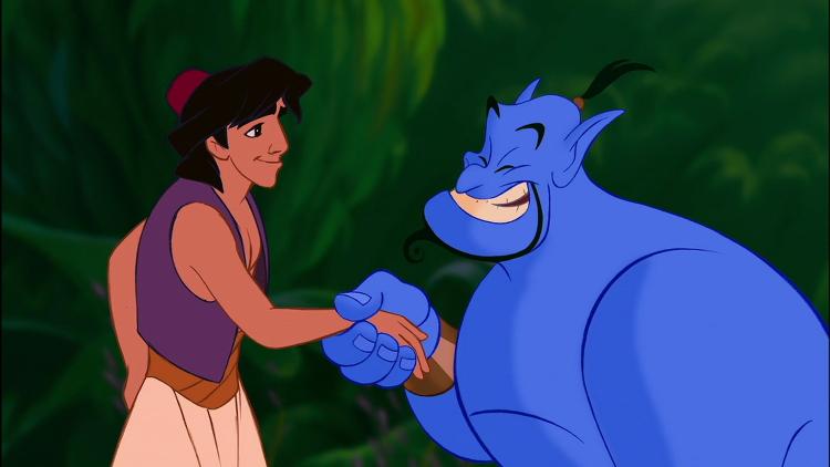 Aladdin-and-Genie