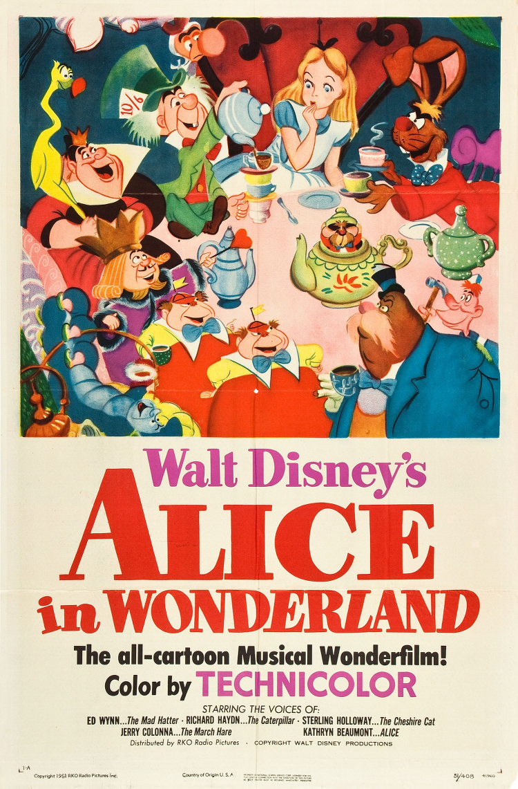Alice-in-Wonderland-1951-poster