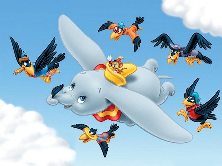 Disney-Dumbo-and-crows