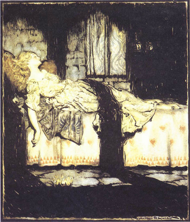 Briar Rose by Arthur Rackham