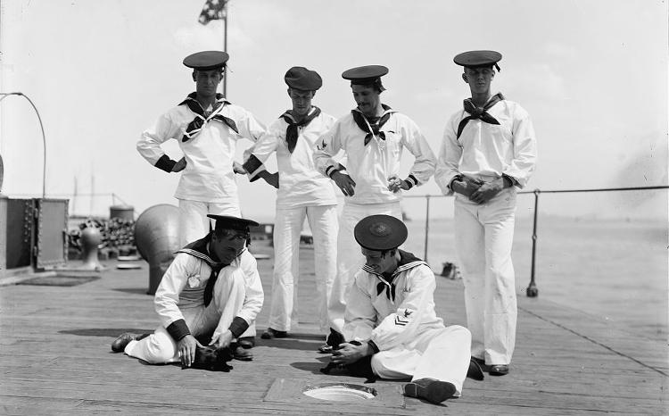 U.S.S. Nahant, the ship's mascots