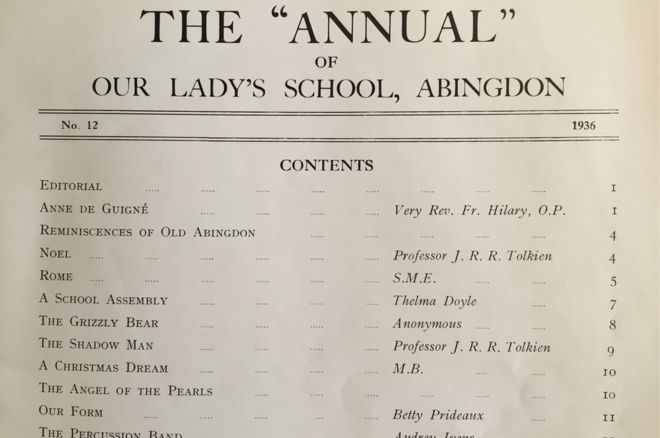 Abingdon-Annual-Tolkien-contents