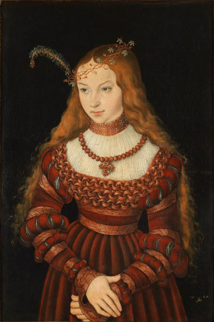 Sybille-Cleves-Lucas-Cranach-the-Elder