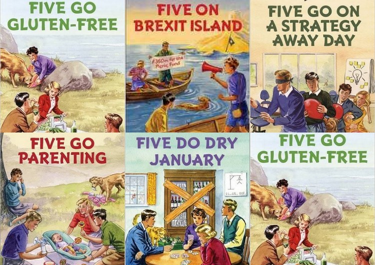 Enid-Blyton-for-Grown-Ups-Famous-Five-covers