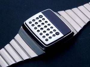 Rare Hewlett Packard HP01 Digital Calculator Watch